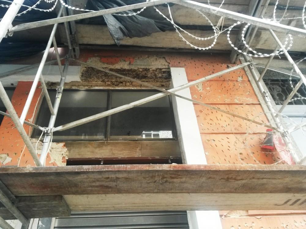JS reparo de fachada