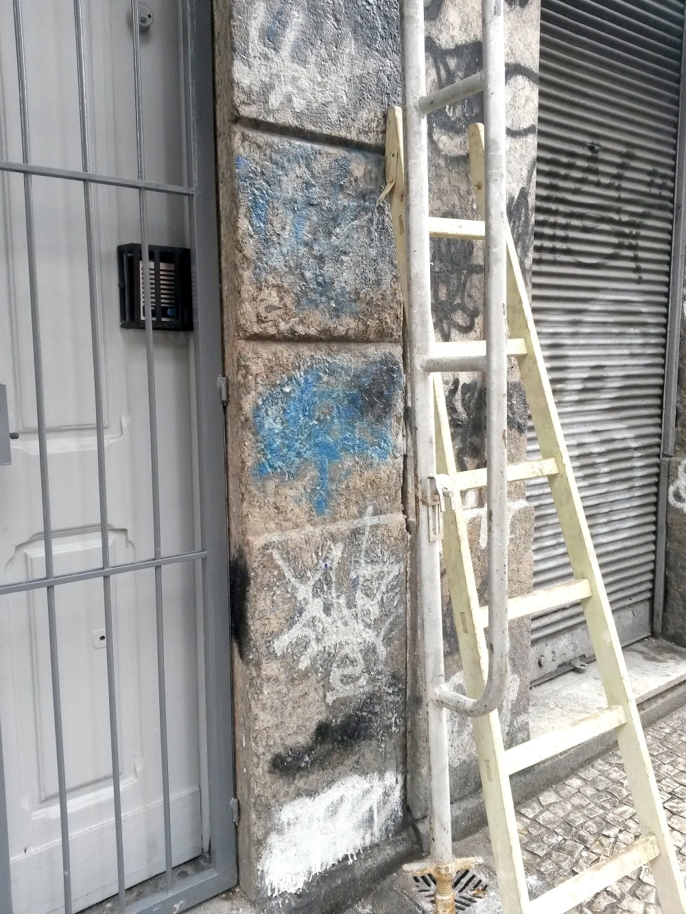 Lapa - limpeza da fachada